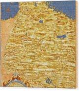 Middle East Georgia, Armenia, Azerbaijan, Iraq, Western Iran Wood Print
