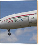 Middle Eastern Airlines Airbus A330 Wood Print