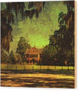 Middleton Place In Charleston Wood Print