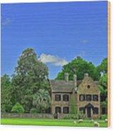 Middleton Place Plantation Wood Print