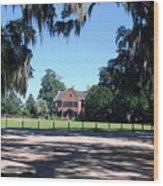 Middleton Plantation Charleston Sc Wood Print