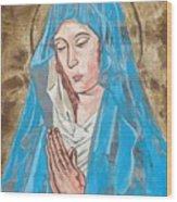 Midieval I Wood Print