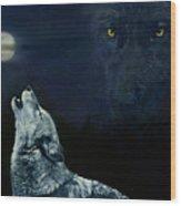 Midnight Communion Wood Print