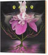 Midnight Dance Wood Print