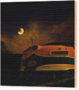 Midnight Express Wood Print