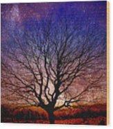 Midnight Hour Wood Print