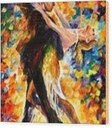 Midnight Tango Wood Print