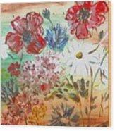 Midsummer Delight Wood Print