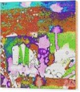 Midsummer Series 2 Wood Print