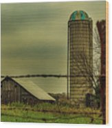 Midwest Barn Wood Print
