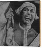 Midwife Wood Print