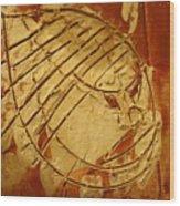 Mighty Masaai - Tile Wood Print