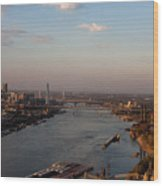 Mighty Mississippi Wood Print