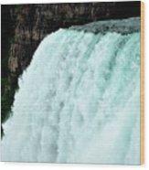 Mighty Niagara Falls Wood Print