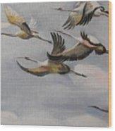 Migration Frame 1 Wood Print