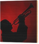 Mike Vax Professional Trumpet Player Photographic Print 3769.02 Wood Print