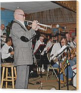 Mike Vax Professional Trumpet Player Photographic Print 3772.02 Wood Print