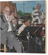 Mike Vax Professional Trumpet Player Photographic Print 3773.02 Wood Print