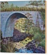 Mike's Keystone Bridge Wood Print