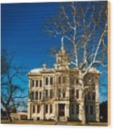 Milam County Courthouse Wood Print