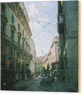 Milan Wood Print