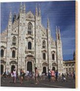 Milan Cathedral Wood Print