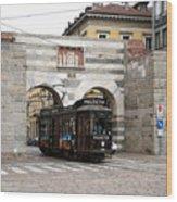 Milan Trolley 5 Wood Print