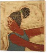 Mildred - Tile Wood Print