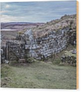 Milecastle 37 Wood Print