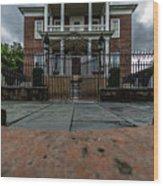 Miles Brewton House Circa 1765 Wood Print