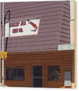 Miles City, Montana - Downtown Wood Print