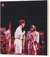 Miles Davis Image 9  With Bob Berg  Wood Print