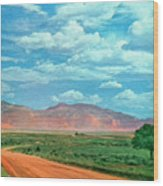 Miles To Go Wood Print