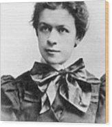 Mileva Maric (1875-1948) Wood Print