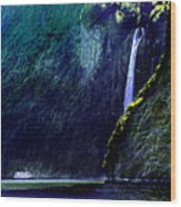 Milford Falls Wood Print