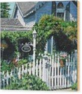 Milford House Wood Print