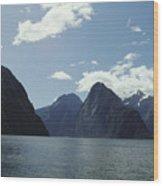 Milford Sound Wood Print