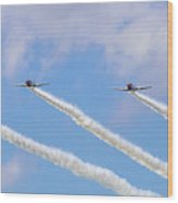 Military Planes Wood Print