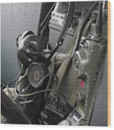 Military Vehicle Radio Wood Print