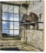 Milking Room Wood Print