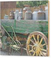Milkman Wood Print