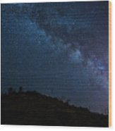 Milky Way 1 Wood Print