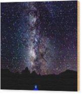 Milky Way 9962 Wood Print