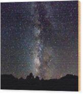 Milky Way 9977 Wood Print