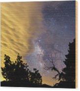 Milky Way Iv Wood Print