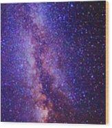 Milky Way Splendor Vertical Take Wood Print