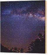 Milky Way Splendor Wood Print