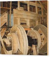 Mill Mechanism Wood Print
