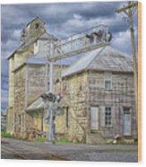 Mill On Reid Road Wood Print