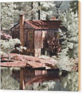 Mill Pond Dreamscape Wood Print